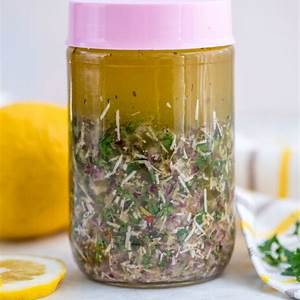 how-to-make-easy-homemade-italian-dressing-sweet-and image