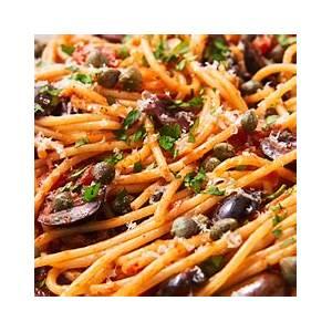 best-pasta-puttanesca-recipe-how-to-make-pasta-puttanesca image