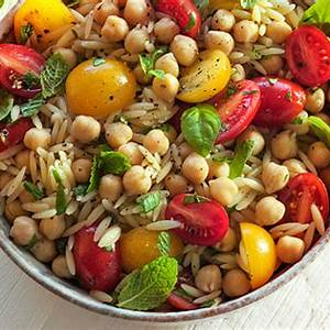orzo-garbanzo-bean-salad-briannas-salad-dressings image