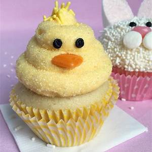 easy-easter-bunny-and-baby-chick-cupcakes-tara-teaspoon image