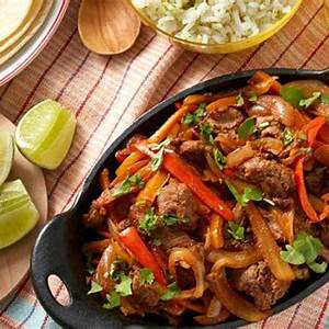 recipe-mexican-beef-fajitas-with-sweet-peppers-lime image