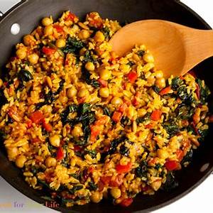 brown-rice-chickpea-paella-cook-for-your-life image
