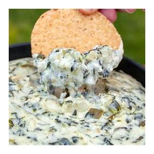 easy-appetizers-spinach-and-artichoke-dip image