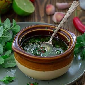 argentinian-chimichurri-sauce-recipe-olivias-cuisine image