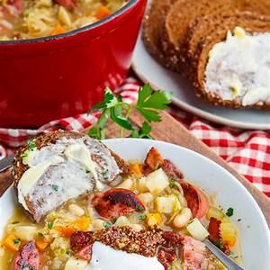 kielbasa-sauerkraut-soup-closet-cooking image