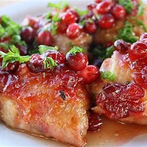 glazed-cranberry-chicken-thigh-recipe-cullys-kitchen image