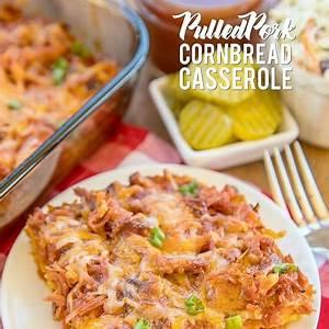 pulled-pork-cornbread-casserole-plain-chicken image