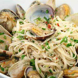 linguine-with-clams-sicilian-cooking image
