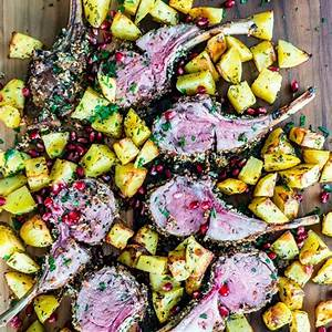herb-crusted-rack-of-lamb-jo-cooks image