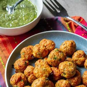 keto-chicken-meatballs-a-wicked-whisk image