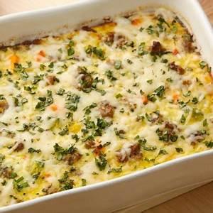 overnight-sausage-egg-bake-recipes-faxo image