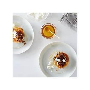 griddled-polenta-cakes-with-caramelized-onions-goat image
