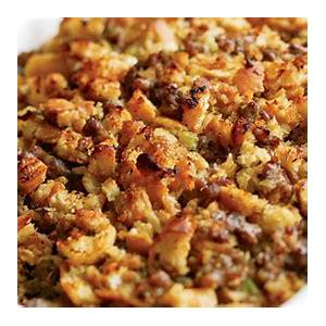 italian-bread-sausage-stuffing-recipe-finecooking image