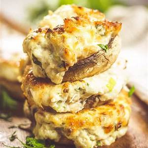 crab-stuffed-mushrooms-keto-friendly-too-the-wicked image