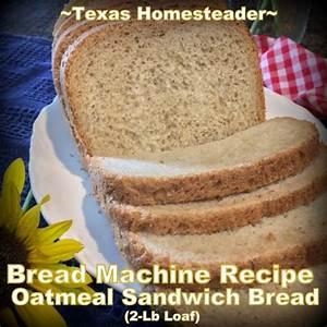 honeyoat-sandwich-bread-machine-recipe-texas-homesteader image
