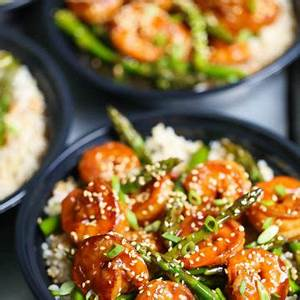 shrimp-and-asparagus-stir-fry-meal-prep-damn-delicious image