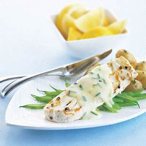 pan-fried-halibut-with-lemon-chive-hollandaise-metro image