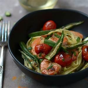 one-skillet-shrimp-and-okra-simple-seasonal image