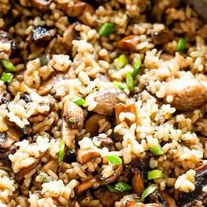 buttery-garlicky-mushroom-rice-easy-cremini-mushroom image