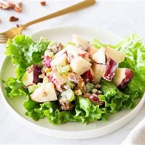 apple-salad-with-pecans-and-raisins image