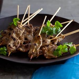 grilled-beef-satay-recipe-tyler-florence-food-network image