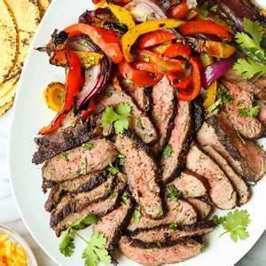 easy-steak-fajitas-damn-delicious image