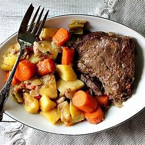 pot-roast-dinner-old-fashioned-roast-beef-with-gravy image