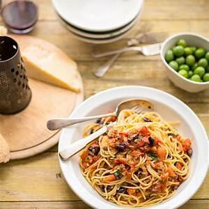 spaghetti-alla-puttanesca-italian-recipes-sbs-food image
