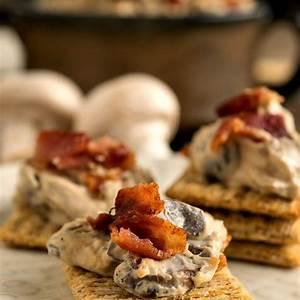 warm-mushroom-bacon-dip-a-family-feast image