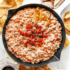 cream-cheese-sausage-dip-joyfoodsunshine image