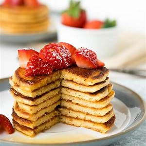 simple-cottage-cheese-pancakes-with-oats-gf-fluffy image