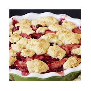 best-brown-butter-pear-cranberry-cobbler-recipe-how-to image
