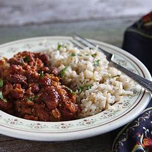 easy-red-beans-and-rice-fatfree-vegan-kitchen image