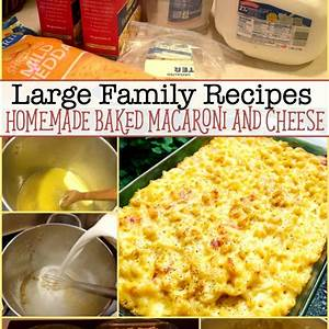 homemade-baked-macaroni-and-cheese-large-family image