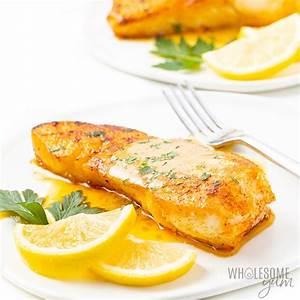 pan-seared-halibut-recipe-with-lemon-butter-sauce image