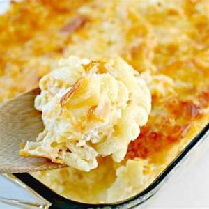 easy-baked-macaroni-and-cheese-recipe-no-boiling image