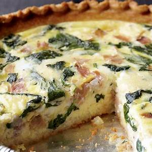 easy-spinach-and-ham-quiche-recipe-eat-this-not-that image
