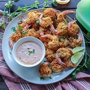 easy-baked-cashew-and-coconut-shrimp-bonappeteach image