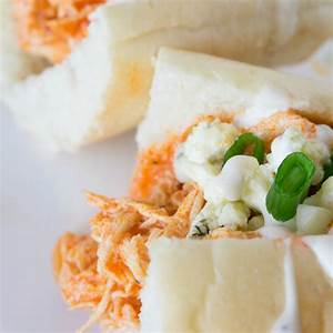 slow-cooker-buffalo-chicken-sandwiches-around-my image
