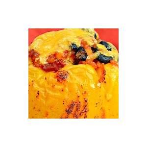 chicken-fajita-stuffed-bell-peppers-serena-bakes-simply image
