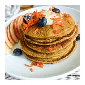 carrot-cake-oatmeal-pancakes-center-for-nutrition-studies image