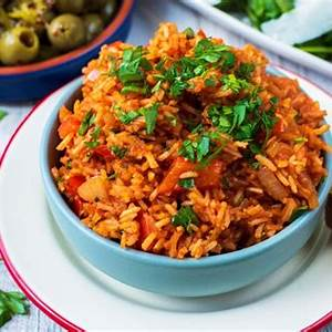 the-best-easy-spanish-rice-hungry-healthy-happy image