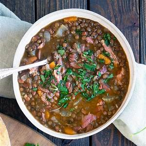 hearty-ham-and-lentil-soup-soup-recipes-belly-rumbles image