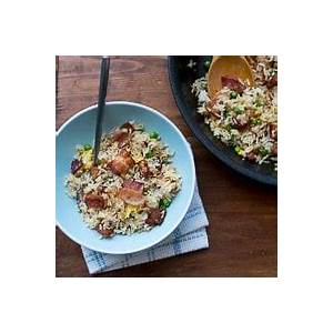 easy-bacon-fried-rice-recipe-restaurant-style-best image