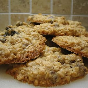 oatmeal-raisin-applesauce-cookies-recipe-delishably image