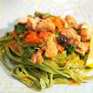 sunnys-one-pan-plan-chicken-and-pasta-dinner-fn image