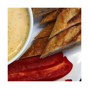 pimento-cheese-fondue-recipe-popsugar-food image