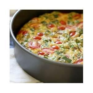 delicious-vegetarian-frittata-recipe-egg image