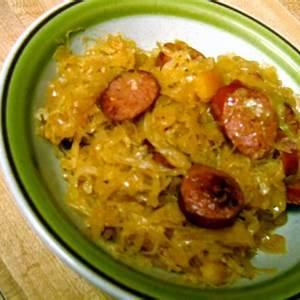 grandma-roses-kielbasa-and-sauerkraut-tasty-kitchen-a image