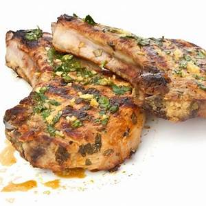 grilled-pork-chops-with-garlic-lime-sauce-recipe-and image